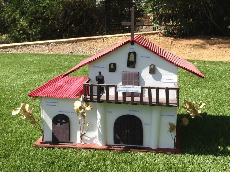 Readers' California mission projects crafted from cake ...