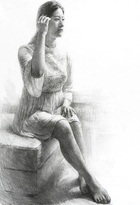 인체소묘 2절캔트지/정상민,써니미술학원 Drawing/kent paper/545×788