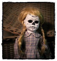 Day of the dead doll.
