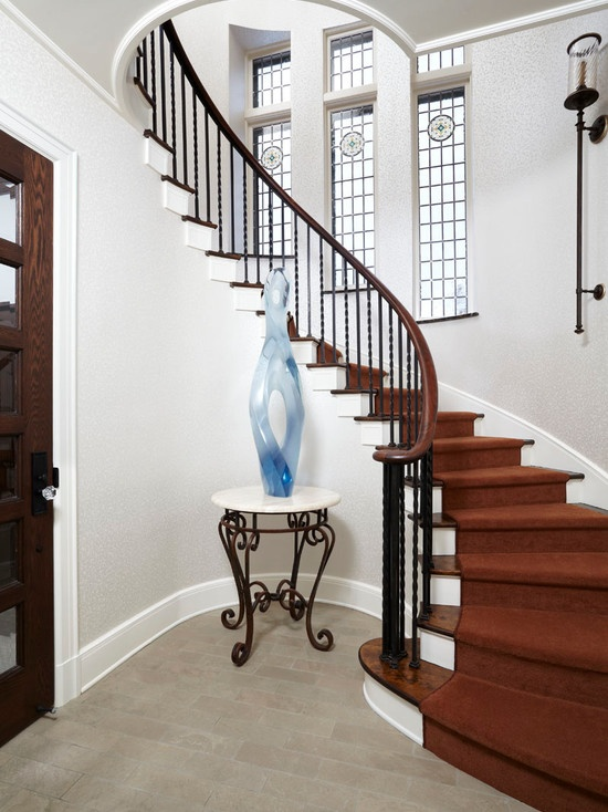 On Pinterest Railing Design Wood Handrail And Staircase Design