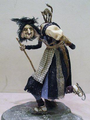 """Doll artist Olga Stolnikova, """"Stars on Ice"""""""
