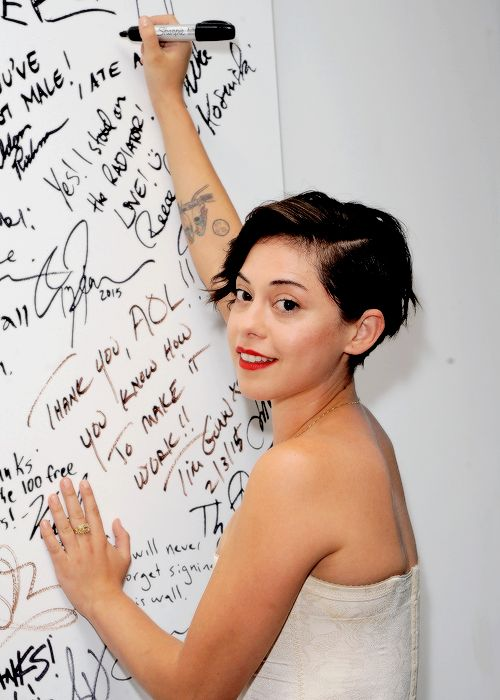 Rosa Salazar at the AOL BUILD Speaker Series promoting 'Scorch Trials' on September 15th
