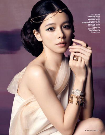 Vivian Hsu. Green eyeliner. So pretty ^.^