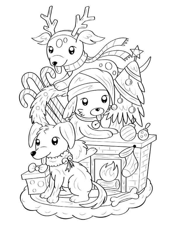 Pin By Muse Printables On Coloring Pages Merry Christmas