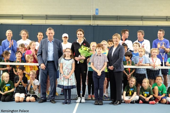 Duchess Kate: The Duchess Spends Halloween with Tennis' Future Stars!