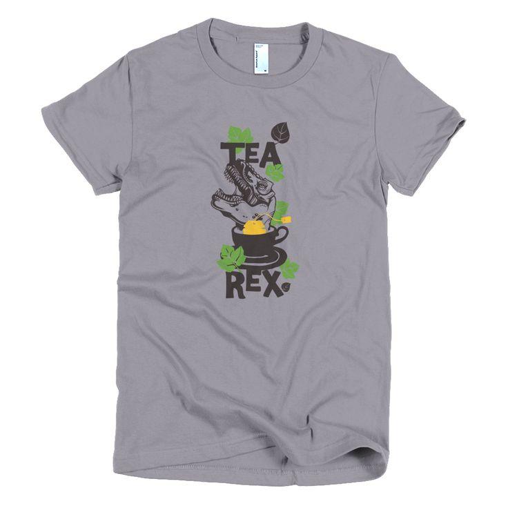 Tea Rex Short sleeve women's t-shirt  #me #like4like #instagood #summer #newstuff #fun #follow #like #tagforlikes #friends