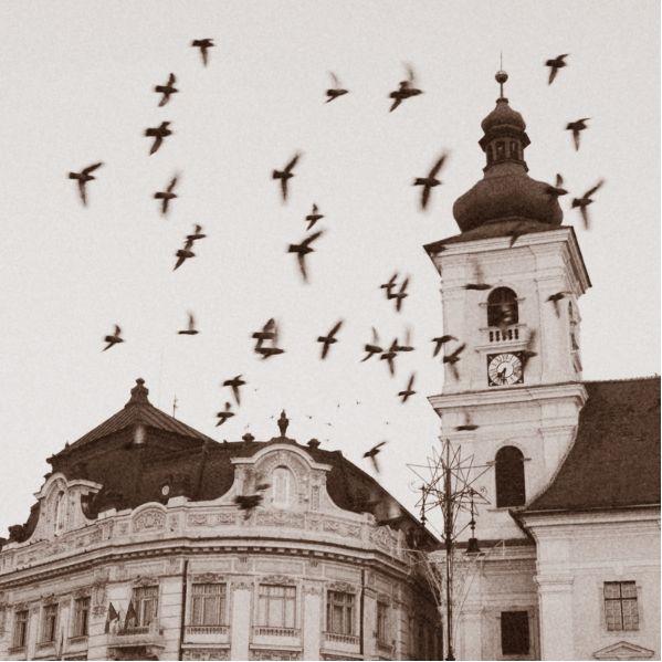 Hermannstadt / Nagyszeben / Sibiu,  Szeben County, Transylvania.   Photo: Free Like a Bird - Ionut Iordache / Flickr