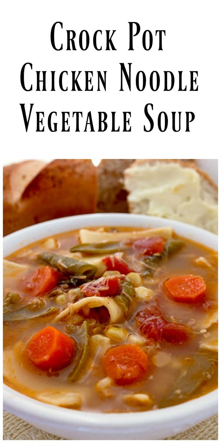 how to cook vegetable soup in crock pot