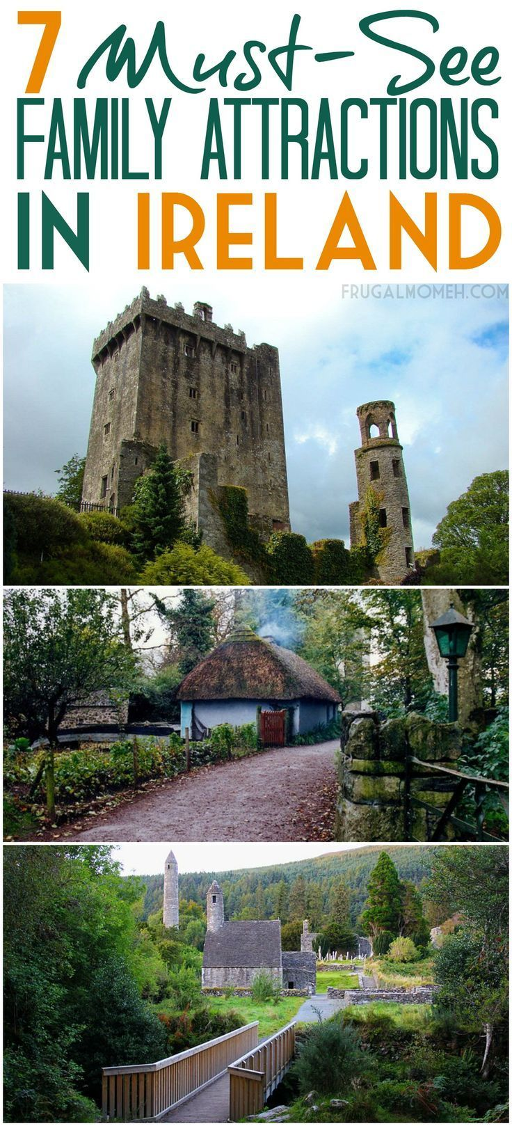 Ireland is, perhaps, the greatest country in the world for a family vacation. Travel in Ireland is a must and these attractions are perfect for family travel.