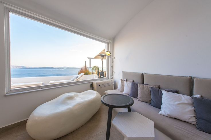 Stunning views from every suite at Santorini Secret Suites and Spa
