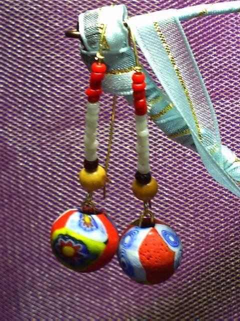 My new design earring!