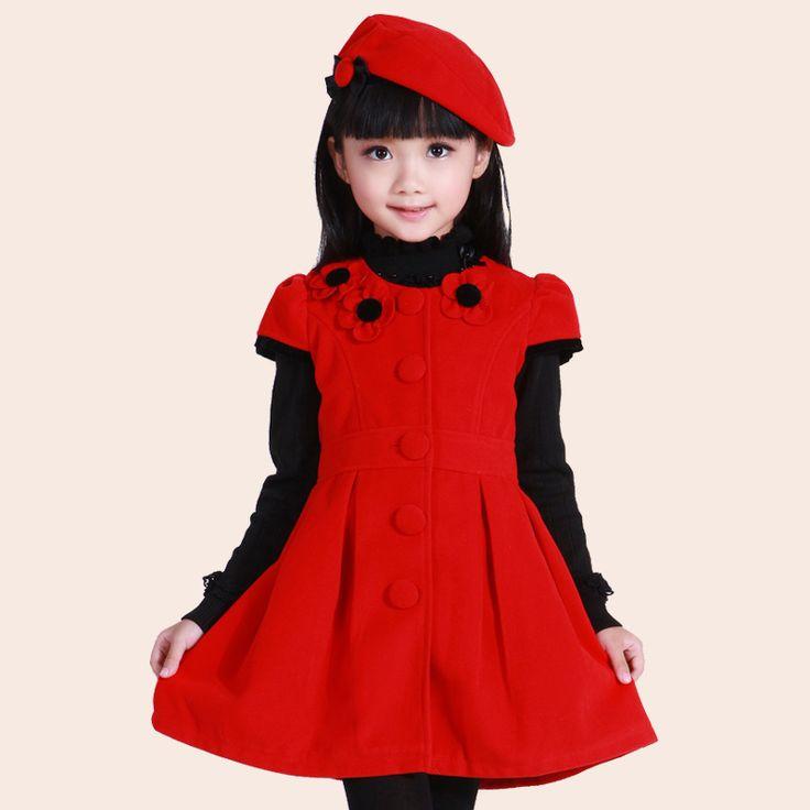 modelos de vestidos de invierno para niñas el invierno de ropa para