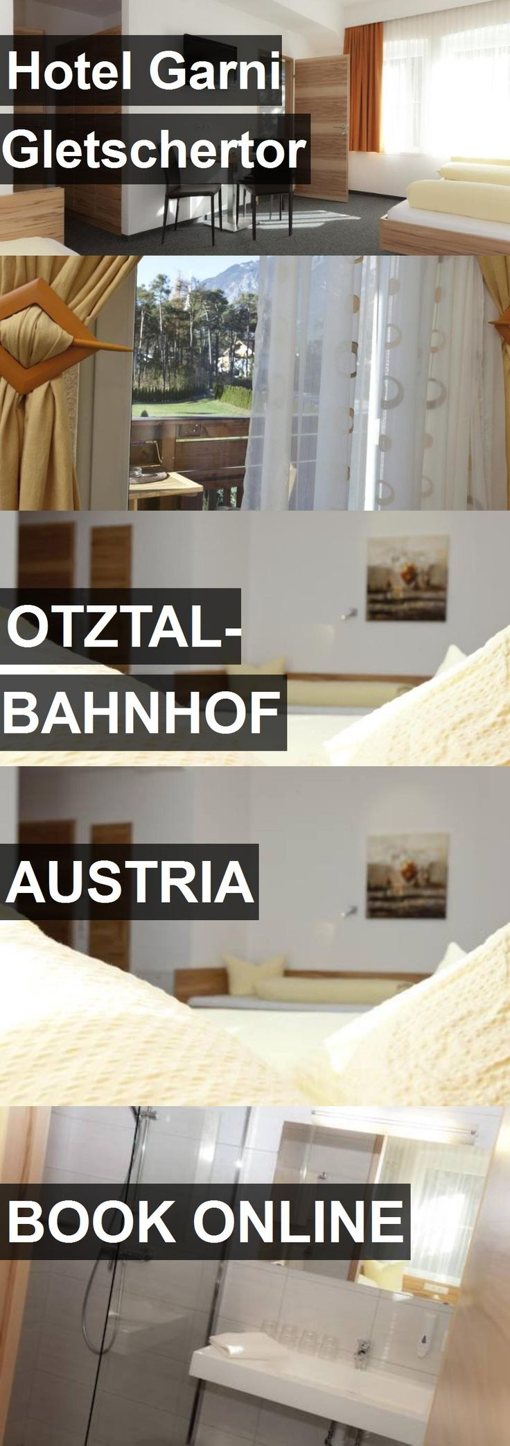 Hotel Garni Gletschertor in Otztal-Bahnhof, Austria. For more information, photos, reviews and best prices please follow the link. #Austria #Otztal-Bahnhof #travel #vacation #hotel