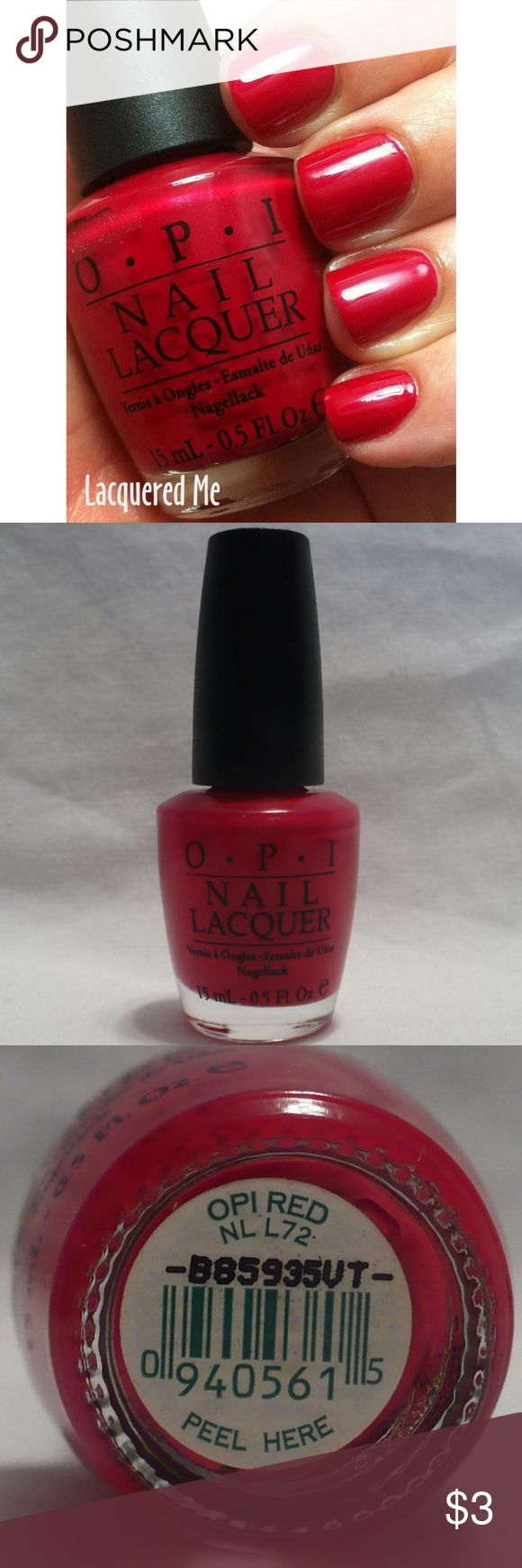 Opi Pure 18k Strikes Again For Easter Egg Nails This Time: Best 25+ Opi Red Ideas On Pinterest