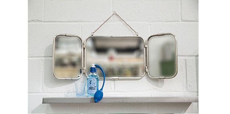 Triple Folding Mirror | Re-found Objects