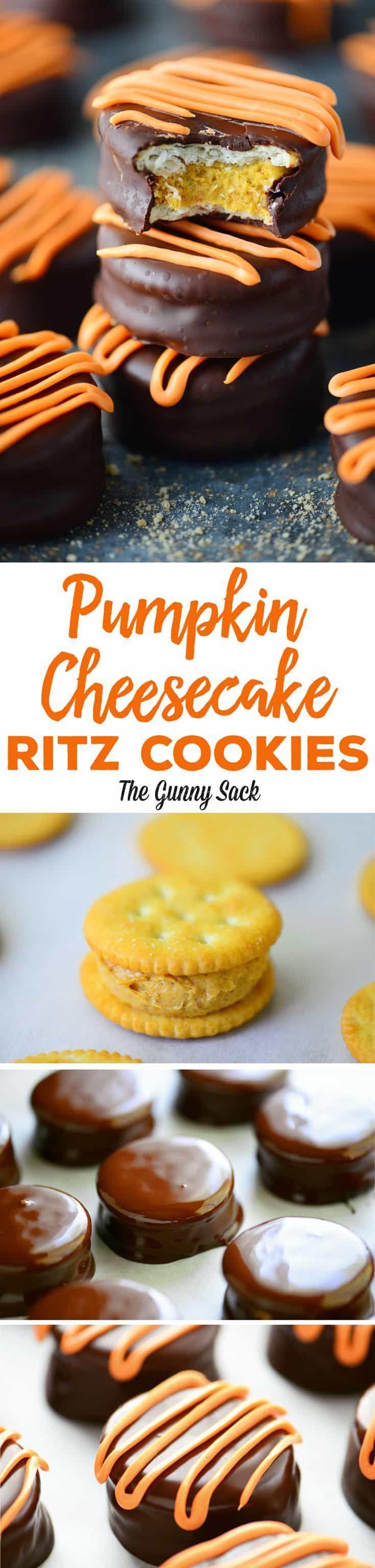 #cheesecake #Cookies #Crackers #Pumpkin #Ritz #Tru…