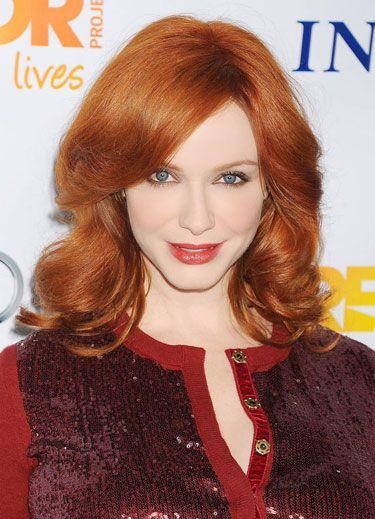Beautiful Brick Red - Christina Hendricks
