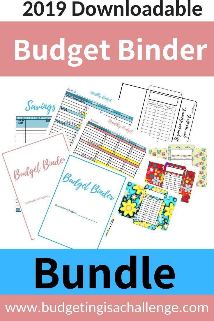 2019 Budget Binder Printables Us Or Uk