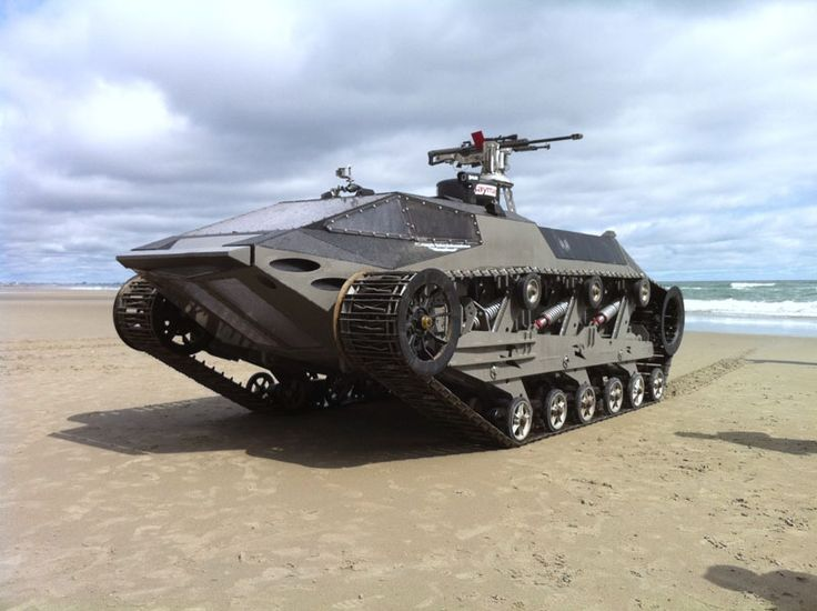 Riptide, amphibious vehicle by Howe and Howe technologies