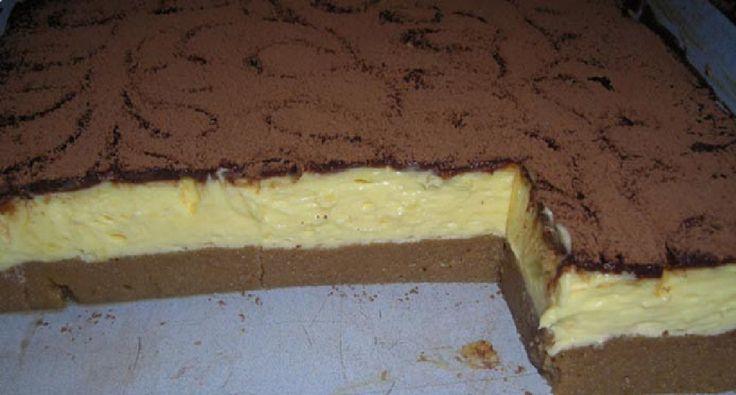 Krupicový koláč s vanilkovým krémom: Jednoduchá príprava a krémová chuť, ktorá očarí úplne každého.