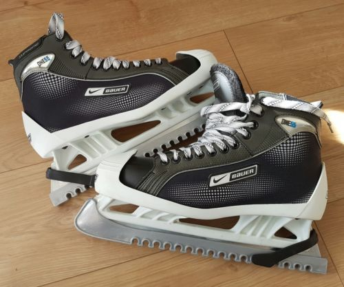 #Bauer one 55 ice #hockey #goalie skates ,  View more on the LINK: http://www.zeppy.io/product/gb/2/172367240901/