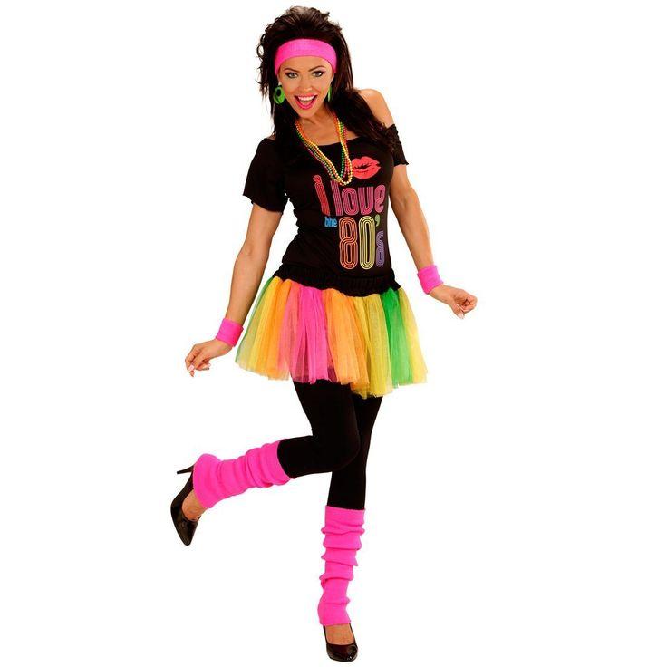 Calentadores de pierna fluorescentes años 80 cuello aeróbicos medias polainas accesorios vestuario: Amazon.es: Juguetes y juegos
