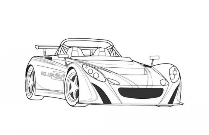 bmw rsr coloring page