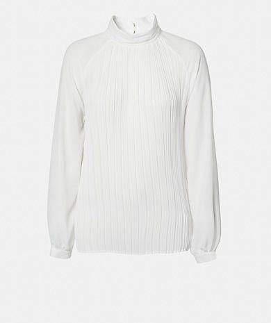 Blusa plissada Camisas Mulher | Túnicas Mulher | LANIDOR.COM - Shop Online