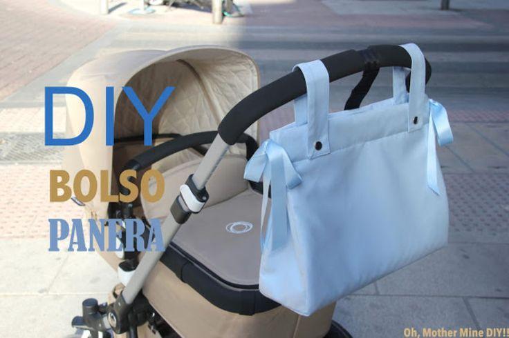 DIY Cómo hacer bolso panera para el carrito del bebe (patrones gratis)