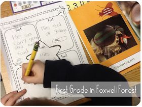 First Grade in Foxwell Forest: Injured Letters and CCSS Non-Fiction Texts FREEBIE