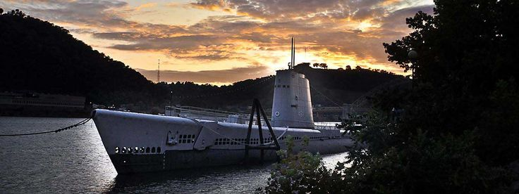 USS Requin Submarine at the Carnegie Science Center in #Pittsburgh