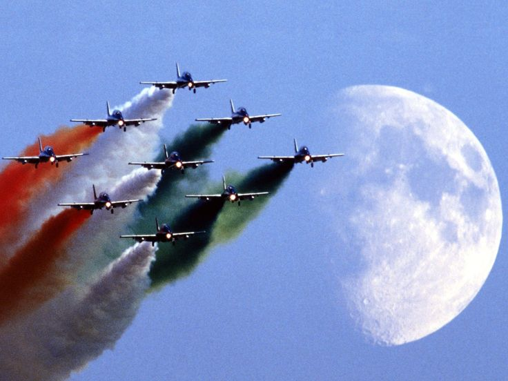 Aircraft Frecce Tricolori Italian Air Force Aerobatic Team