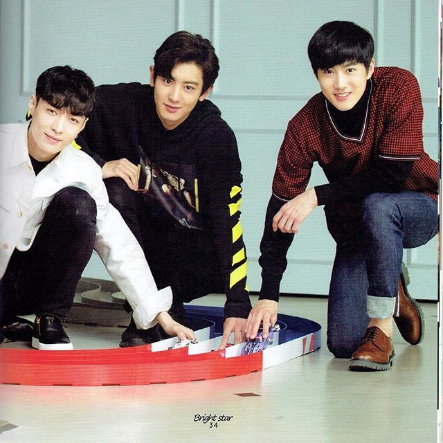 Yixing • Chanyeol • Junmyeon  - Admin Tin  #EXO #LAY #CHANYEOL #SUHO #MONSTER #LUCKYONE #EXOLOTTO #LOTTO
