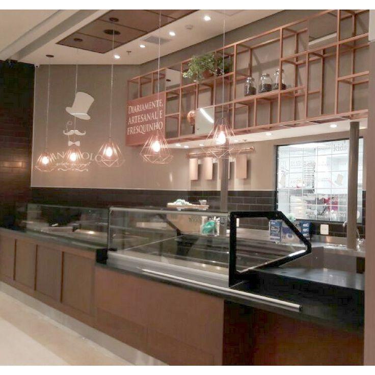 Gelateria San Paolo - Arquitetura e Design para foodservice.