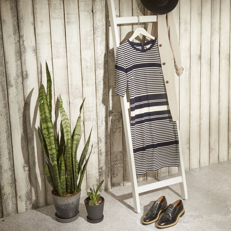 Stripes are always a good idea. This season we have our eyes on stripes that make a statement. Head-to-toe, varying widths, you name it — we're wearing it.