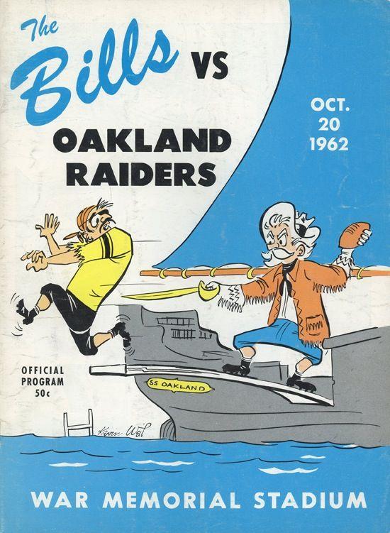 The Bills vs Oakland Raiders
