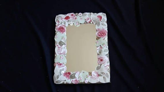 Check out this item in my Etsy shop https://www.etsy.com/uk/listing/589327823/wall-mirror-with-pretty-homemade
