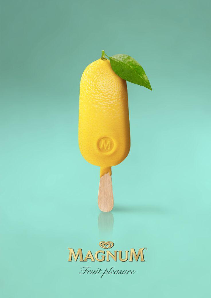 Echa un vistazo a este proyecto @Behance: \u201cFruit pleasure | Magnum\u201d https://www.behance.net/gallery/43128769/Fruit-pleasure-Magnum