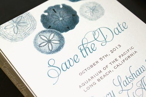 3 Lovely Nautical Save the Dates in Blue - #wedding ideas
