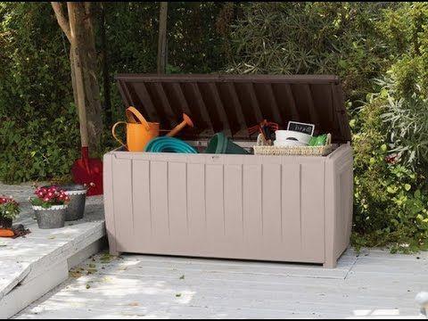 Пластиковый сундук Keter Novel - идеальное решение для хранения игрушек или хозинвентаря на даче, на балконе или у бассейна.   http://www.metgar.ru/catalog/sunduki/novel/
