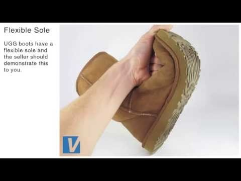 A short video on how to identify genuine Ugg Boots by youVerify