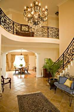 17 best images about beautiful iron work designs for homes for Beautiful foyer lighting