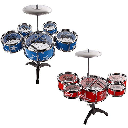 TK 6Pcs Big Band Jazz Kids Drum Set Kit Childs Play Music Toy Mini Musical Blue Red No description (Barcode EAN = 5015328689313). http://www.comparestoreprices.co.uk/december-2016-3/tk-6pcs-big-band-jazz-kids-drum-set-kit-childs-play-music-toy-mini-musical-blue-red.asp