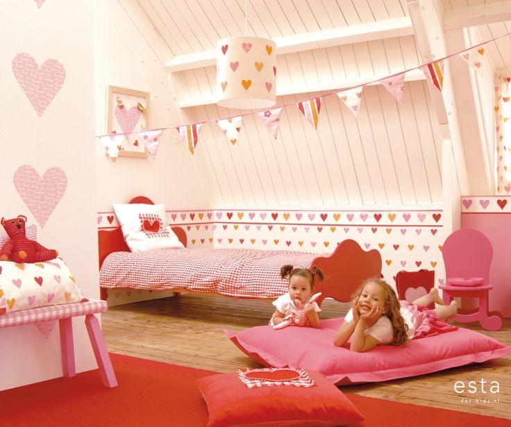 wallpaper hearts pink Keek-a-boo 114636 #behang #Tapete #papier peint #wallpaper #papel pintado #papel tapiz #carta da parati #harten #roze #hearts #pink #hearts #Rosa #cœurs #rose #cuori #rosa #corazones #rosa #ESTAhome.nl  #Keek-a-boo#meisjeskamer #Mädchenzimmer #dormitorio de chicas #chambre fille #camera da letto delle ragazze #girls bedroom #babykamer #Babyzimmer #dormitorio bebe #chambre bébé #camera da letto bimbi #nursery #baby #Baby #bebé #bébé #bambino #baby #lief #süß #mono…