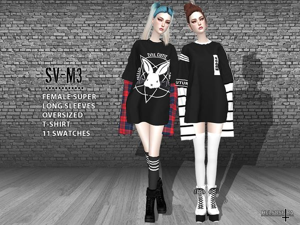 sims 4 oversized shirt