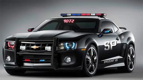 2012 Camaro Police Car.