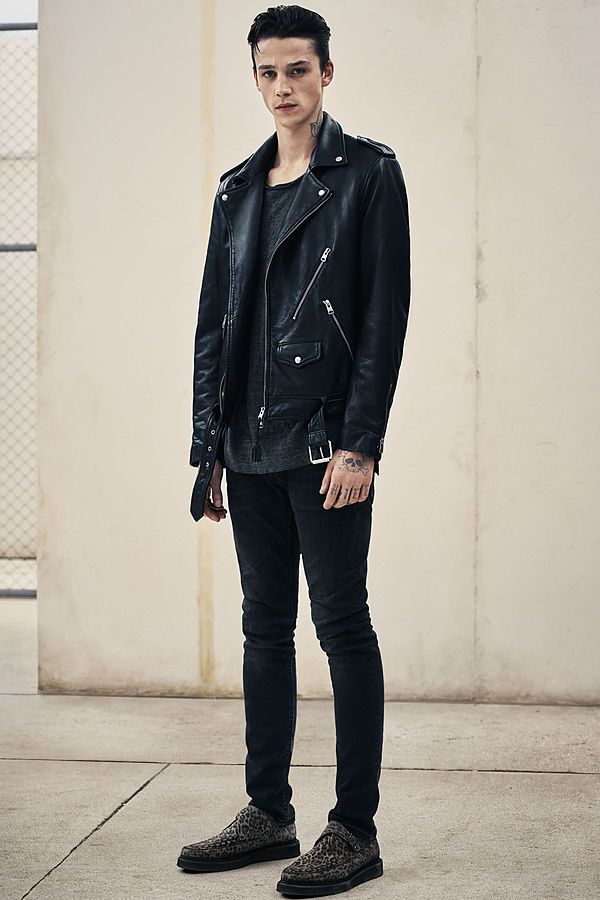 Perfect style leather jacket