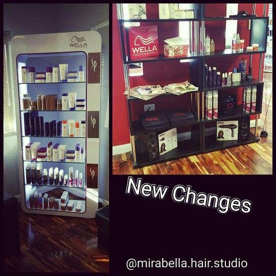 Beautiful SP Wella Products
