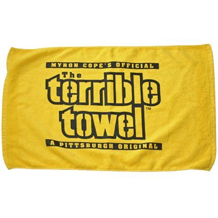 Myron Cope's Official The Terrible Towel A Pittsburgh