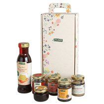 Lin's Farm All-Natural Spreads and Marinade Gift Box   Kosher Gift Baskets